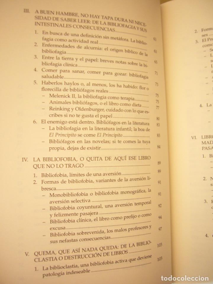 Libros de segunda mano: MIGUEL ALBERO: ENFERMOS DEL LIBRO (UNIVERSIDAD DE SEVILLA, 2013) MUY BUEN ESTADO - Foto 7 - 211642538