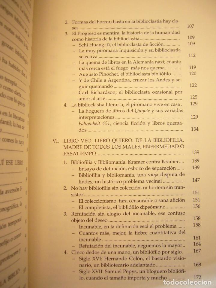 Libros de segunda mano: MIGUEL ALBERO: ENFERMOS DEL LIBRO (UNIVERSIDAD DE SEVILLA, 2013) MUY BUEN ESTADO - Foto 8 - 211642538