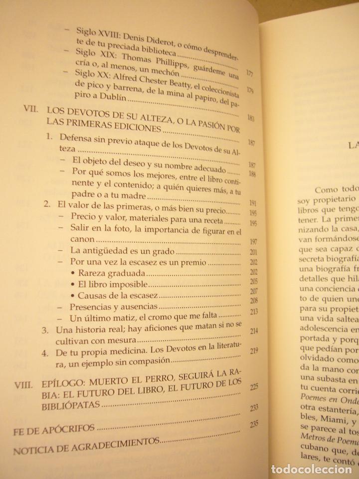 Libros de segunda mano: MIGUEL ALBERO: ENFERMOS DEL LIBRO (UNIVERSIDAD DE SEVILLA, 2013) MUY BUEN ESTADO - Foto 9 - 211642538