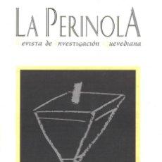 Libros de segunda mano: LA PERINOLA. Nº1. REVISTA DE INVESTIGACIÓN QUEVEDIANA. 1997. Lote 211749718