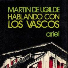 Libros de segunda mano: HABLANDO CON LOS VASCOS. Lote 211755450