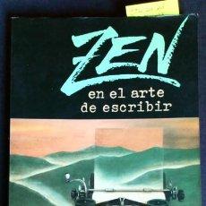 Libros de segunda mano: ZEN EN EL ARTE DE ESCRIBIR - RAY BRADBURY - MINOTAURO (PRIMERA EDICIÓN). Lote 212089541