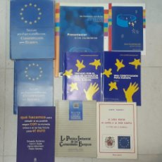 Libros de segunda mano: LOTE 9 LIBROS UNIÓN EUROPEA. Lote 190878012