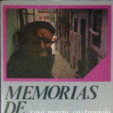 Libros de segunda mano: MEMORIAS DE UNA TIERRA. XOSÉ MARÍA CASTROVIEJO. PREFACIO DE ÁLVARO CUNQUEIRO (1981). Lote 217019911