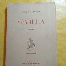 Libros de segunda mano: SEVILLA, ANTONIO MILLA, 1958, PAPELES DE SON ARMADANS, PYMY 19. Lote 217351533