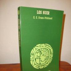 Libros de segunda mano: LOS NUER - E. E. EVANS-PRITCHARD - ANAGRAMA, MUY BUEN ESTADO. Lote 218272126