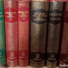 Libros de segunda mano: COLECCION JOYA AGUILAR 6 TOMOS. Lote 129275079