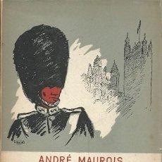 Libros de segunda mano: INICIACION A LA VIDA ANGLOSAJONA ANDRE MAUROIS VICTORIA. Lote 221265742