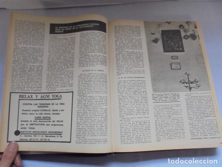 Libros de segunda mano: KARMA 7. NUEVOS HORIZONTES DE LA CIENCIA. Nº 26 AL Nº 37. 1975. DE ENERO A DICIEMBRE. - Foto 11 - 221956030