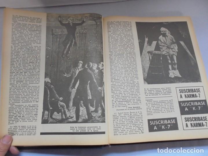 Libros de segunda mano: KARMA 7. NUEVOS HORIZONTES DE LA CIENCIA. Nº 26 AL Nº 37. 1975. DE ENERO A DICIEMBRE. - Foto 14 - 221956030