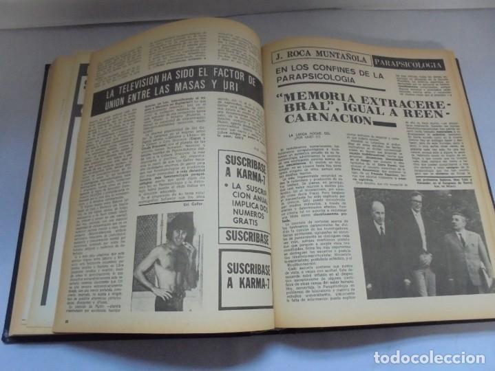 Libros de segunda mano: KARMA 7. NUEVOS HORIZONTES DE LA CIENCIA. Nº 26 AL Nº 37. 1975. DE ENERO A DICIEMBRE. - Foto 17 - 221956030