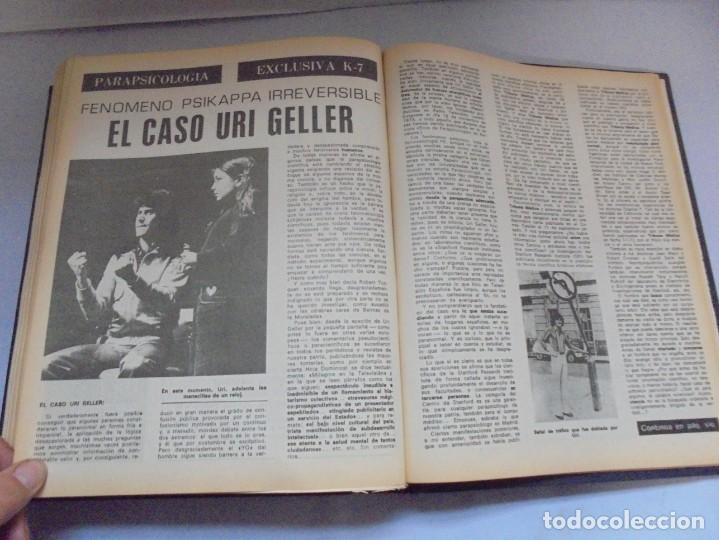Libros de segunda mano: KARMA 7. NUEVOS HORIZONTES DE LA CIENCIA. Nº 26 AL Nº 37. 1975. DE ENERO A DICIEMBRE. - Foto 24 - 221956030