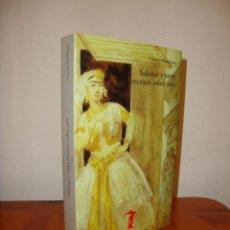 Libros de segunda mano: SALONES Y OTROS ESCRITOS SOBRE ARTE - CHARLES BAUDELAIRE - LA BALSA DE LA MEDUSA, MUY BUEN ESTADO. Lote 222290502