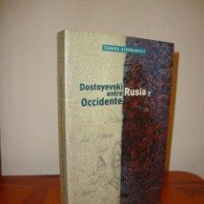 Libros de segunda mano: DOSTOYEVSKI ENTRE RUSIA Y OCCIDENTE - TAMARA DJERMANOVIC - HERDER, MUY BUEN ESTADO. Lote 222291280