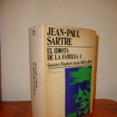 Libros de segunda mano: EL IDIOTA DE LA FAMILIA, 1 - JEAN-PAUL SARTRE - TIEMPO CONTEMPORÁNEO, MUY RARO. Lote 222293340