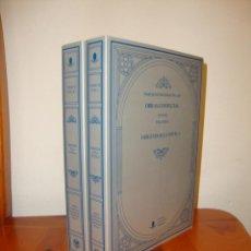 Libros de segunda mano: OBRAS COMPLETAS. ORÍGENES DE LA NOVELA - MARCELINO MENÉNDEZ PELAYO - UNIV. DE CANTABRIA, COMO NUEVO. Lote 222293827