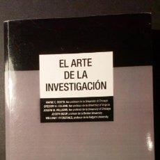 Libros de segunda mano: EL ARTE DE LA INVESTIGACIÓN. Lote 222533248