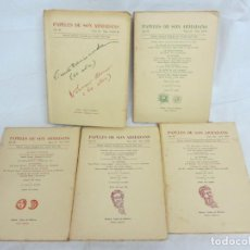 Libros de segunda mano: PAPELES DE SON ARMADANS - AÑO III - 1958 - NUM. XXII, XXIV, XXV, XXVI, XXXII-III. Lote 222584792