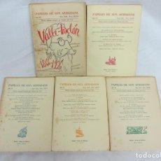 Libros de segunda mano: PAPELES DE SON ARMADANS - AÑO XI - 1966 - VALLE INCLAN - NUM. CXXII, CXXIV, CXXV, CXXVI, CXXVII. Lote 222592501