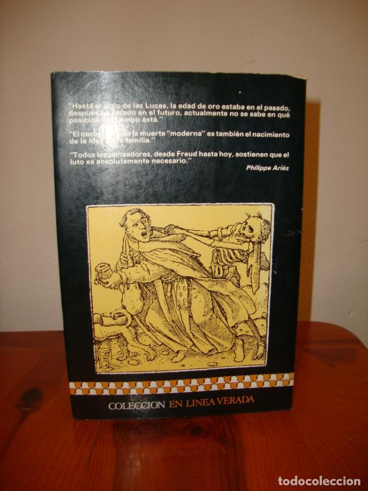 Libros de segunda mano: LA MUERTE EN OCCIDENTE - PHILIPPE ARIÈS - ARGOS VERGARA - Foto 3 - 222616512