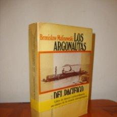 Libros de segunda mano: LOS ARGONAUTAS DEL PACÍFICO OCCIDENTAL - BRONISLAW MALINOWSKI - PENÍNSULA. Lote 222617002