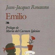 Libros de segunda mano: EMILIO O DE LA EDUCACION - JEAN-JACQUES ROUSSEAU. Lote 222828790