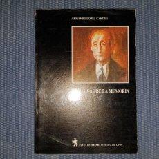 Libros de segunda mano: LAS AGUAS DE LA MEMORIA. UNA APROXIMACIÓN A LA POESÍA DE LEOPOLDO PANERO. Lote 223997407