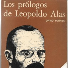 Libros de segunda mano: LOS PRÓLOGOS DE LEOPOLDO ALAS. Lote 225141900