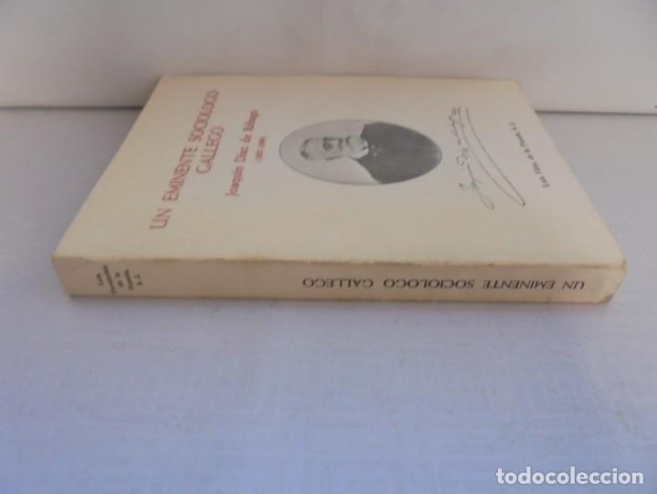 Libros de segunda mano: UN EMINENTE SOCIOLOGO GALLEGO. JOAQUIN DIAZ DE RABAGO. DEDICADO POR EL AUTOR. 1979. - Foto 2 - 225580372