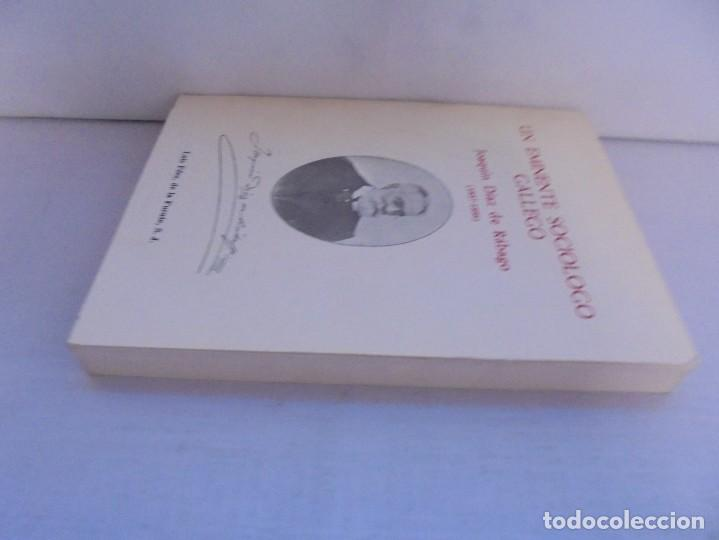 Libros de segunda mano: UN EMINENTE SOCIOLOGO GALLEGO. JOAQUIN DIAZ DE RABAGO. DEDICADO POR EL AUTOR. 1979. - Foto 4 - 225580372