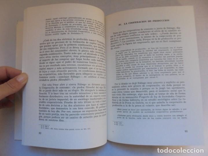 Libros de segunda mano: UN EMINENTE SOCIOLOGO GALLEGO. JOAQUIN DIAZ DE RABAGO. DEDICADO POR EL AUTOR. 1979. - Foto 12 - 225580372