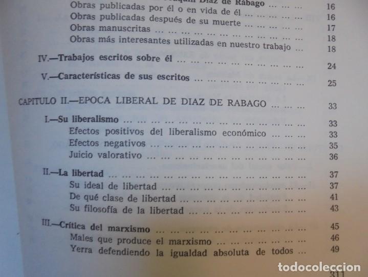 Libros de segunda mano: UN EMINENTE SOCIOLOGO GALLEGO. JOAQUIN DIAZ DE RABAGO. DEDICADO POR EL AUTOR. 1979. - Foto 18 - 225580372