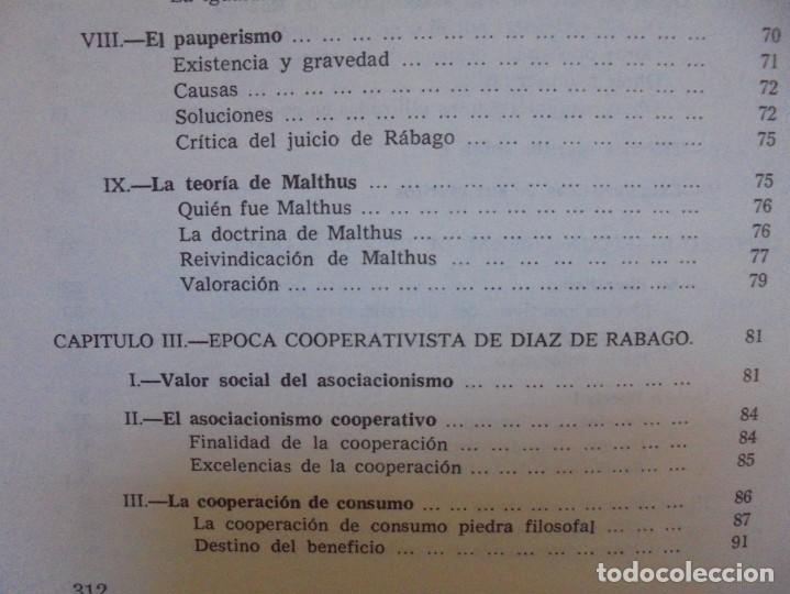 Libros de segunda mano: UN EMINENTE SOCIOLOGO GALLEGO. JOAQUIN DIAZ DE RABAGO. DEDICADO POR EL AUTOR. 1979. - Foto 20 - 225580372