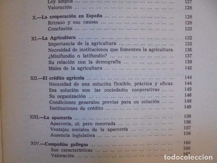 Libros de segunda mano: UN EMINENTE SOCIOLOGO GALLEGO. JOAQUIN DIAZ DE RABAGO. DEDICADO POR EL AUTOR. 1979. - Foto 22 - 225580372