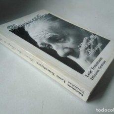 Libros de segunda mano: LEÓN TENEMBAUM. BUENOS AIRES. TIEMPO DE BORGES. Lote 225708655