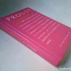Libros de segunda mano: MARCEL PROUST. DE LA IMAGINACIÓN Y DEL DESEO. Lote 225848820