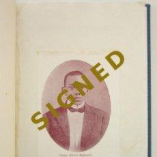 Libros de segunda mano: CONCHA PEÑA PASTOR. GASPAR OCTAVIO HERNÁNDEZ: POETA DEL PUEBLO. PANAMÁ. 1953. Lote 226753725