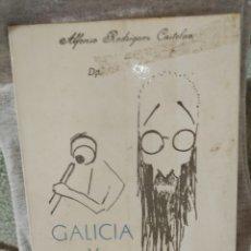 Libros de segunda mano: ALFONSO RODRÍGUEZ CASTELAO. GALICIA Y VALLE-INCLÁN. ED. CELTA. 1971. Lote 227777195