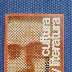 Libros de segunda mano: GRAMSCI, ANTONIO: CULTURA Y LITERATURA. Lote 231991970