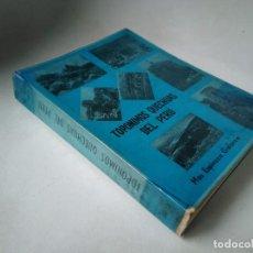 Libros de segunda mano: MAX ESPINOZA GALARZA. TOPÓNIMOS QUECHUAS DEL PERÚ. Lote 232717988