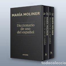 Libros de segunda mano: DICCIONARIO DE USO DEL ESPAÑOL. - MOLINER, MARÍA.. Lote 234085525