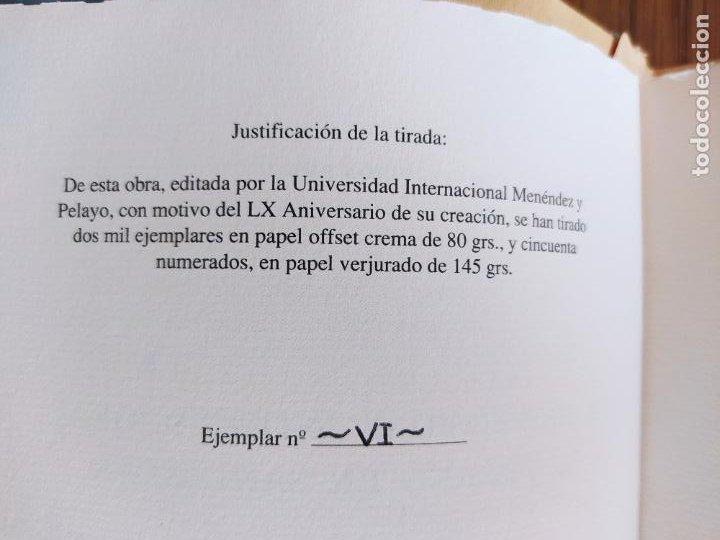 Libros de segunda mano: 2 Ediciones de la Universidad de verano de Santander. Una limitada a 50 ejemplares. Facsimiles. - Foto 4 - 235879320