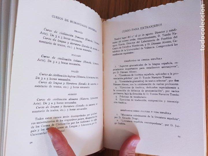 Libros de segunda mano: 2 Ediciones de la Universidad de verano de Santander. Una limitada a 50 ejemplares. Facsimiles. - Foto 5 - 235879320