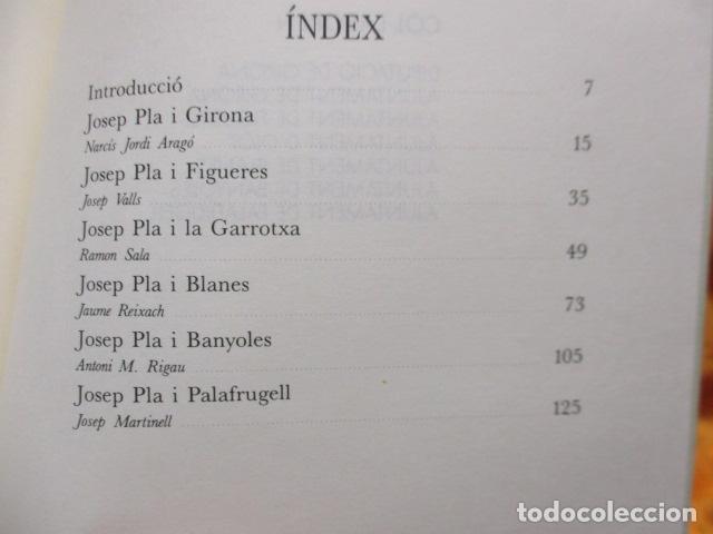 Libros de segunda mano: Sis visions sobre Josep Pla - Narcís Jordi Aragó, Josep Martinell, Jaume Reixach, Antoni M. Rigau, R - Foto 14 - 236801850