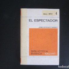 Libros de segunda mano: EL ESPECTADOR - ORTEGA Y GASSET. Lote 237396390