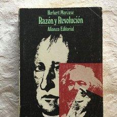 Libros de segunda mano: RAZÓN Y REVOLUCIÓN - HERBERT MARCUSE. Lote 237398440