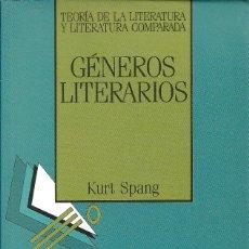 Libros de segunda mano: GÉNEROS LITERARIOS, KURT SPANG. Lote 238174570