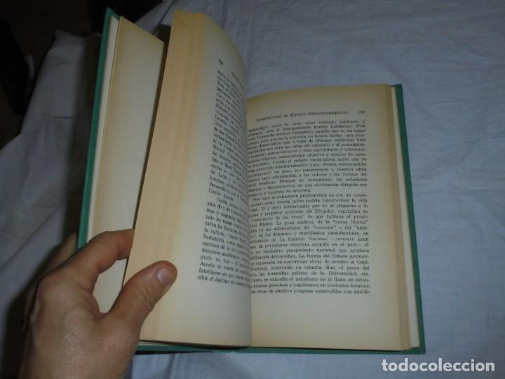 Libros de segunda mano: INTRODUCCION AL ENSAYO HISPANOAMERICANO.GERARDO BROWN-WILLIAM JASSEY 1968 - Foto 4 - 239457510