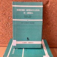 Libros de segunda mano: ¡¡ OCASION !! - LOTE 5 TOMOS GREDOS / CAMPO ABIERTO. Lote 239595750