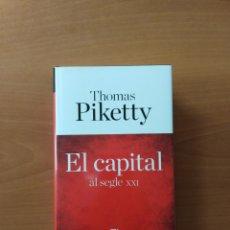 Libros de segunda mano: EL CAPITAL AL SEGLE XXI. THOMAS PIKETTY. Lote 239623940